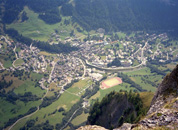 Leukerbad from Above